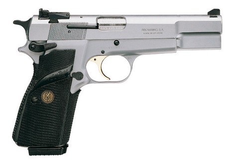 browning gp silver chrome 9mm armurerie barraud toulouse