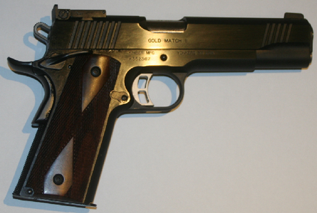 kimber gold match II armurerie barraud toulouse 31