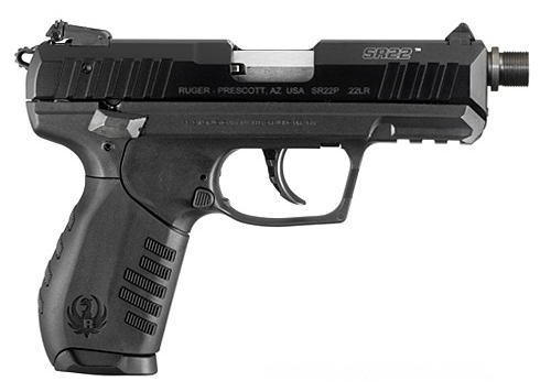 ruger sr22 fileté armurerie barraud toulouse 31