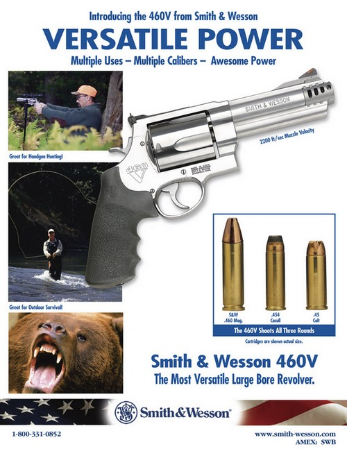 smith wesson 460v armurerie barraud toulouse 31